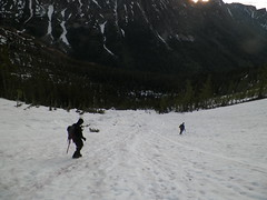 down Longs pass
