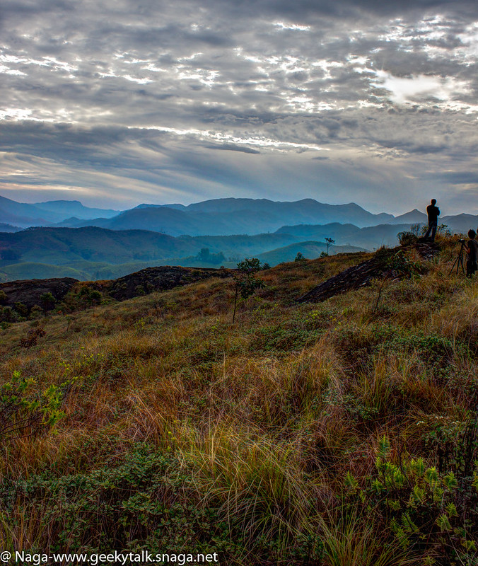 Lone Man Standing - Taken at Munnar (HDR)