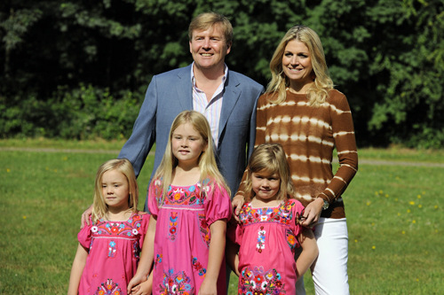 Willem Alexander and family