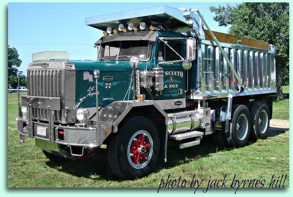 Craigslist Heavy Duty Trucks >> Autocar Dump Truck - a photo on Flickriver
