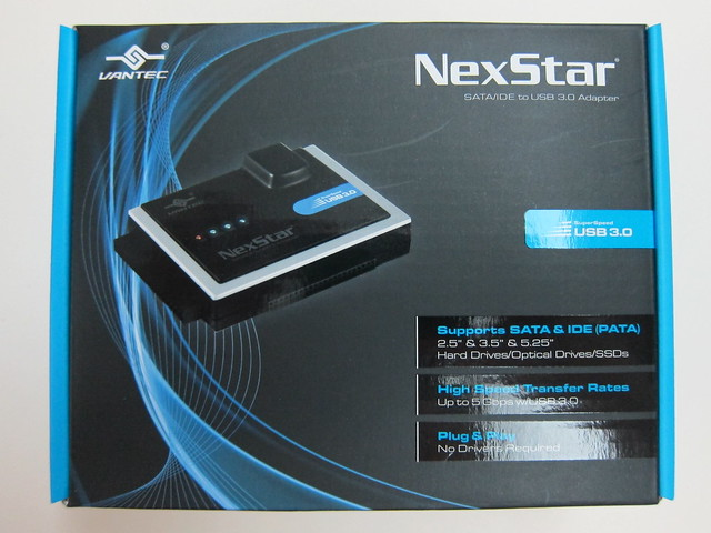 Vantec NexStar SATA/IDE to USB 3.0 Adapter - Box Front