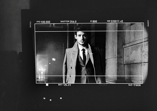 9c Behind the scenes at the Burberry AutumnWinter 2012 ad campaign