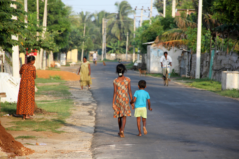Peaceful morning in Jaffna, Sri Lanka