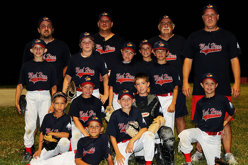 Chase's baseball team, the Mud Hens