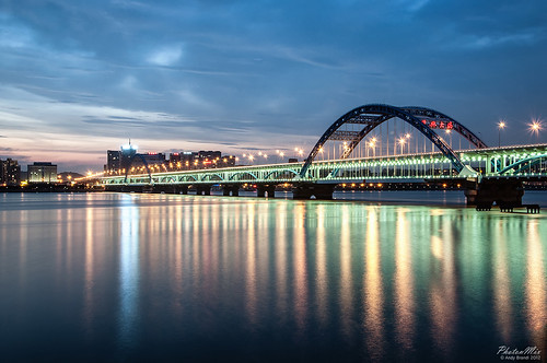 Fuxing (Zhonghe) Bridge at Blue Hour
