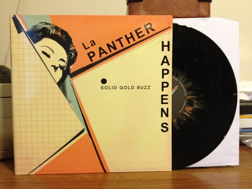 La Panther Happens - Solid Gold Buzz LP - Black w/ Splatter Vinyl (/100) by Tim PopKid