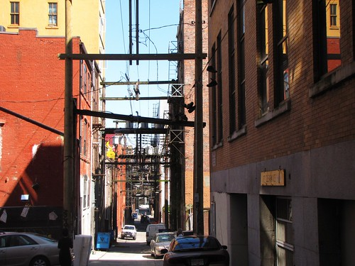 Alley, Vancouver, former site of blind pigs