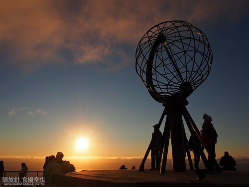 midnight sun@Nordkapp
