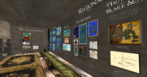 Maps of SL exhibit