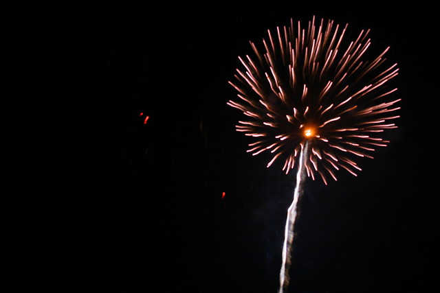 4th of July Fireworks in Blairsville, GA
