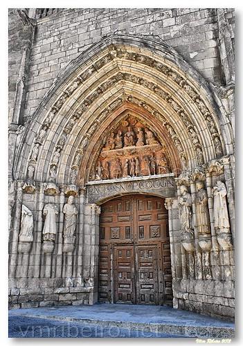 Porta da catedral de Burgos by VRfoto