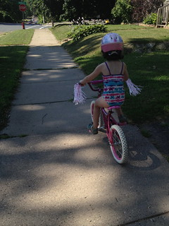 Lexi Biking