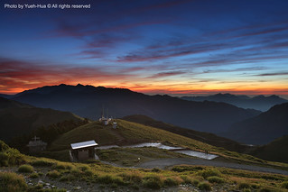 Hehuan Main Peak (3417M) at Dawn, Nantou county │ July 14, 2012