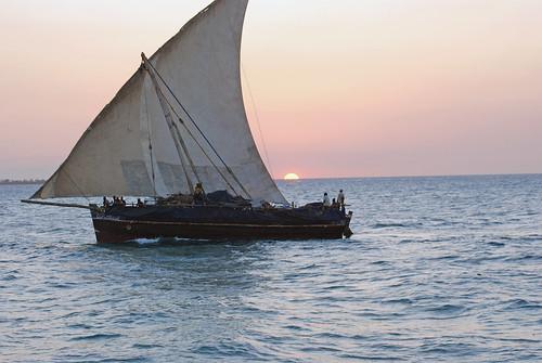 africa sunset tanzania zanzibar stonetown dhow unguja tauck oneboat harveybarrison hbarrison
