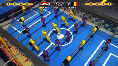 Foosball 2012 on PSN
