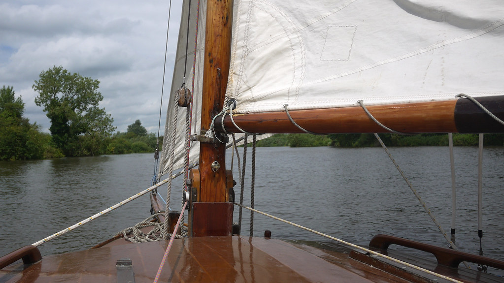 Sailing on River Yare