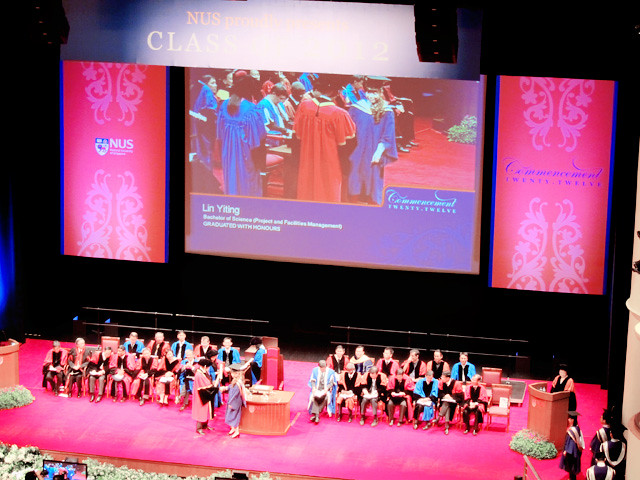 NUS convocation hall
