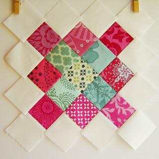 Granny Squares Quilt Block 1