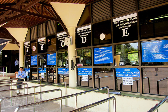 Angkor Wat Complex - Ticket Counter