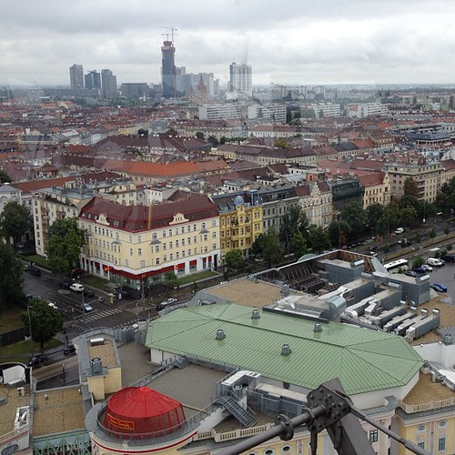 Vienna as seen from the Riesenrad