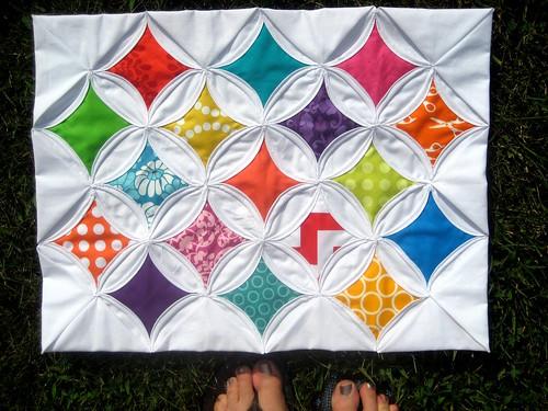 Circus Tent mini quilt