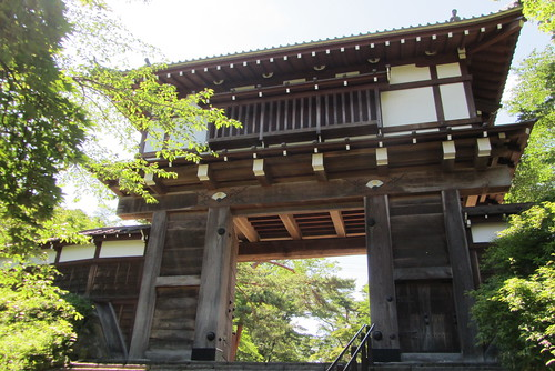 building castle japan architecture gate akita kubota