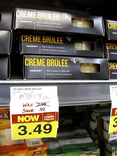 President's Choice Black Label Crème Brûlée