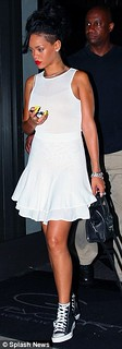 Rihanna Converse Celebrity Style Women's Fashion
