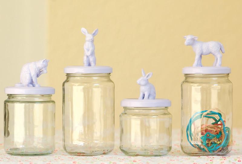 New animal jam jars