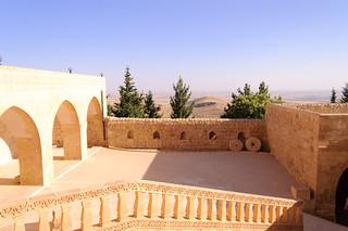 Attēls no Mor Hananyo Monastery. turkey monastery mardin turabdin syriac deyrulzafaran morhananyo