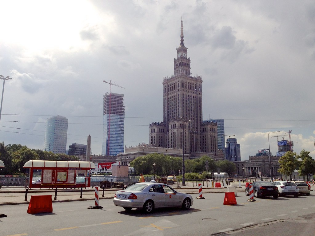 Warschau (PL) - Palace of Culture and Science / PKiN