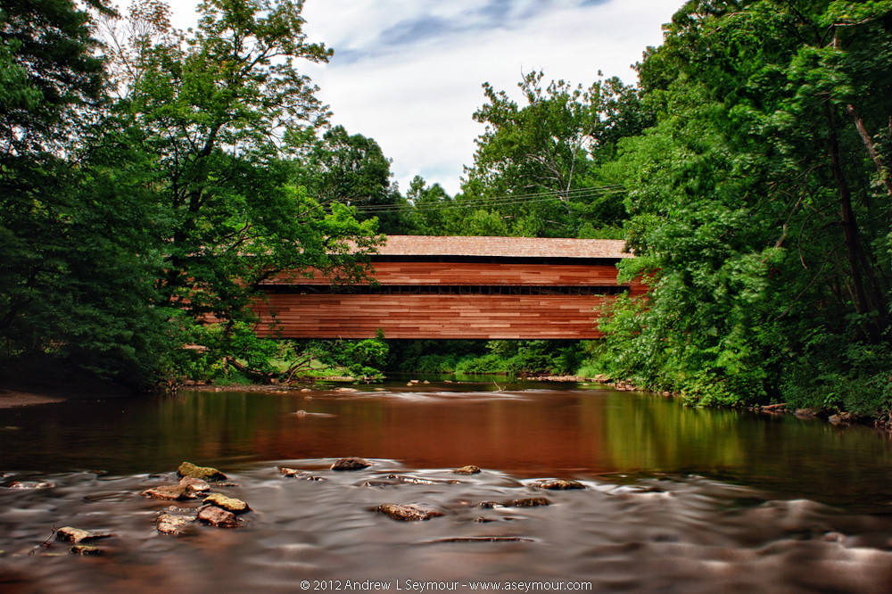 Rapps Covered Bridge - Post Renovation