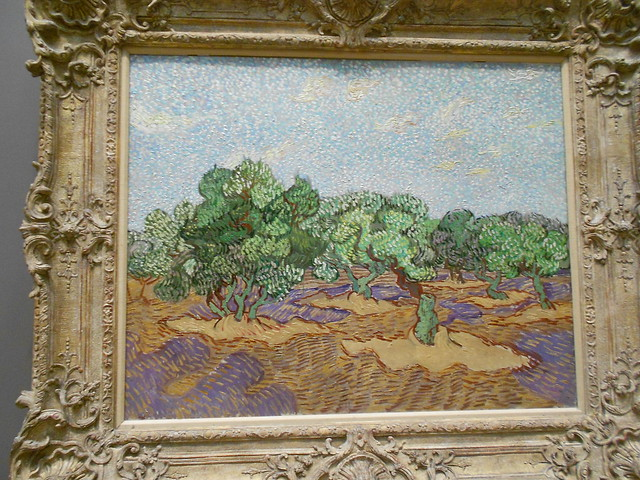 Olive Trees - Vincent Van Gogh.
