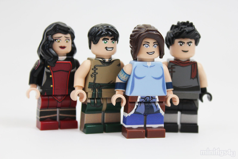 Minifigs4u Legend of Korra LEGO
