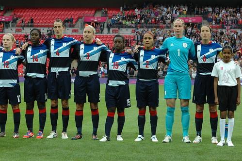 Womens Olympic Football GB  1 Brazil 0 060