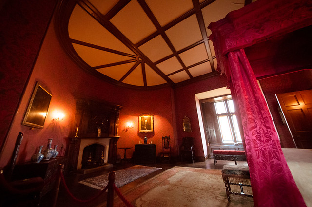 Master bedroom chirk castle flickr photo sharing