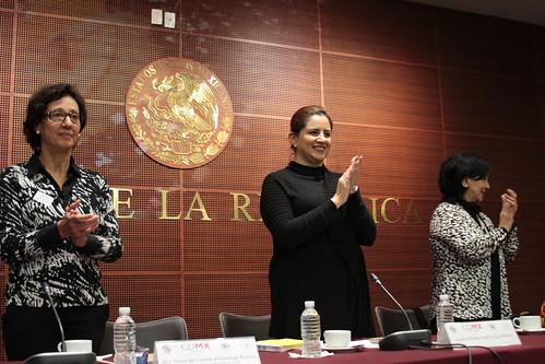 El día 22 de julio del 2016 se llevó a cabo en el Senado de la República el Foro: Trabajo doméstico y economía del cuidado: Una tarea pendiente para la política pública.