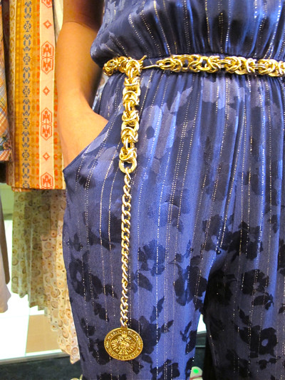 This 1960s gold link ah-go-go belt dresses any outfit up!