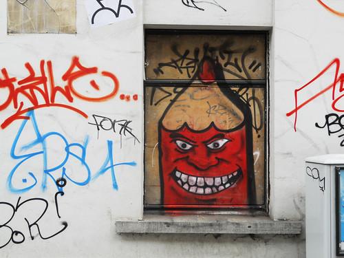 Le diable à la fenêtre