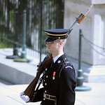 Tomb of the Unknown Soldier - guard - Arlington National Cemetery - 2012
