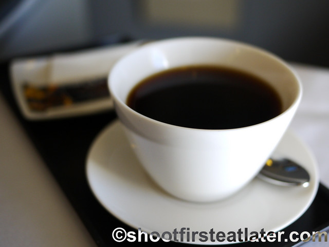 Philippine Airlines Meals- coffee