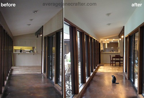 Breezeway from Studio to family room