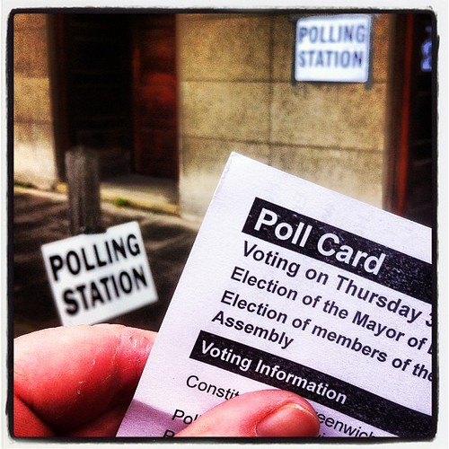 My first election voting as a British citizen. Exciting times! by MAStapleton