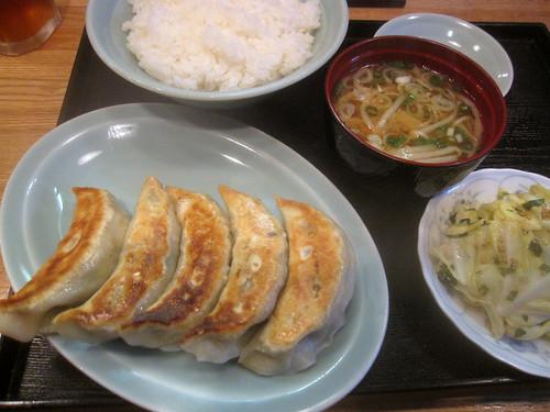 餃子定食@南湖(江古田)