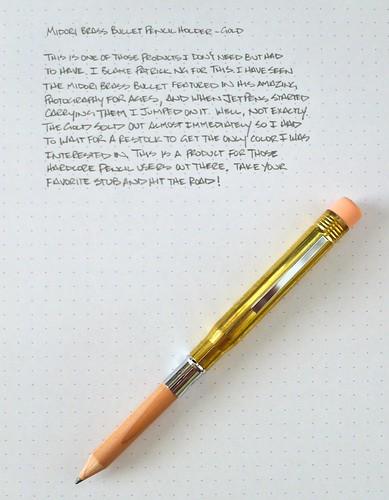 Midori Brass Bullet