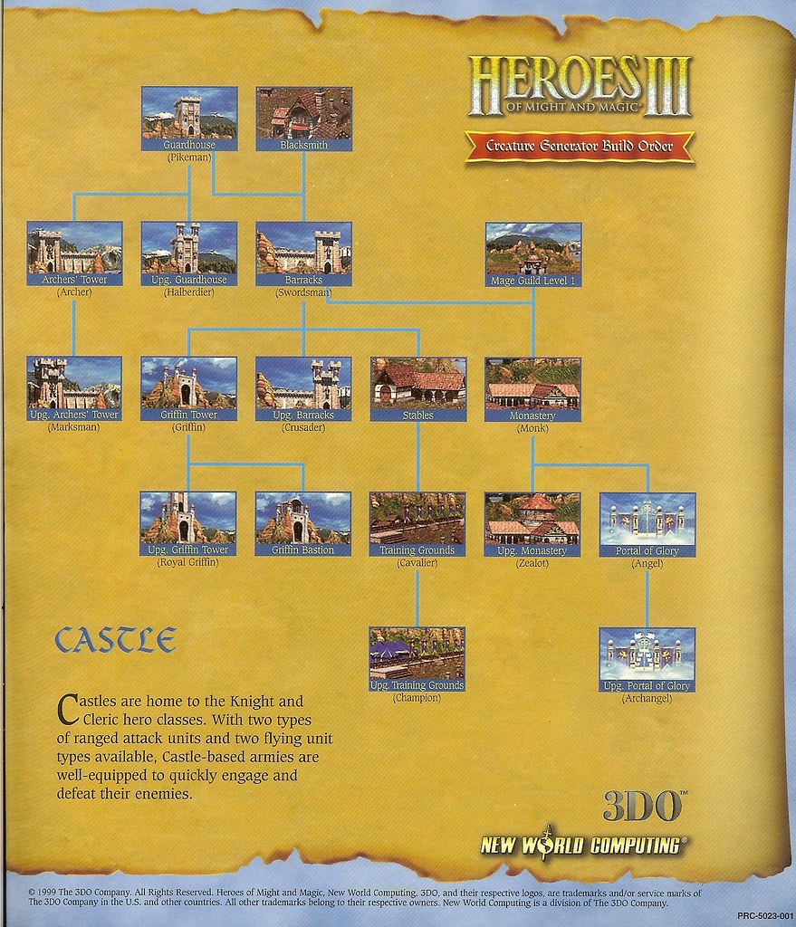 Heroes Of Might and Magic Archive - Heroes III - Creature … | Flickr