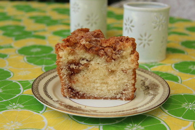 William Sonoma Cinnamon Walnut Coffee Cake