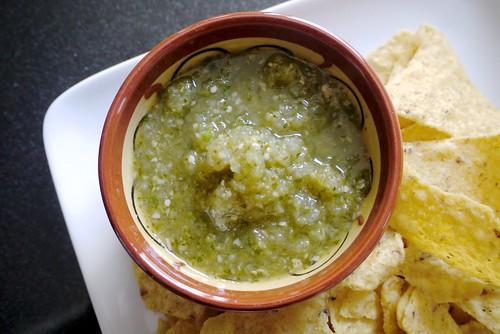 Salsa Verde aka Tomatillo Salsa