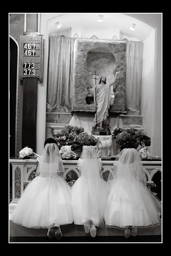 First Holy Communion by WTL photos