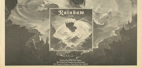 June 1976 Rainbow Rising Tour Ad (Bottom)